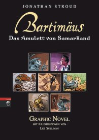Cover Bartimäus - Das Amulett von Samarkand - Graphic Novel